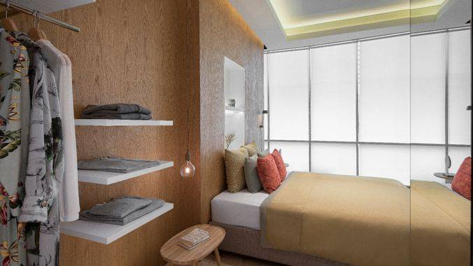 1 + 1 Bedroom